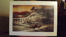 Terry Redlin Peaceful Evening Signed Limited Edition Print 1983 New #101/960