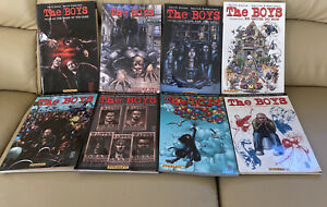 🔥THE BOYS Trade Paperback Graphic Novels 1-8 Collection.