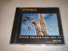 Roland Music Style Disk – Style Collection Vol 10