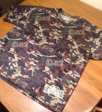 MMA ELITE Shirt CAMO Short Sleeve Size 2xl XXL Fighter Awesome Print All Over