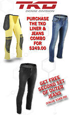 "TKD LADIES ""RORI"" BLUE JEANS - WITH RPS LINING SIZE 14 + FREE 2ND JEANS!"