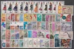 Espagne Année 1967 Complet Neuf Sans Charnière MNH Espagne Avec Costumes