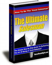 How To Be The Ultimate SALESMAN - Simple Methods To Be A Good Salesman (CD-ROM)