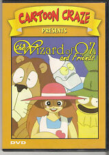 The Wizard of Oz And Friends Cartoon Craze Brand New Animated DVD 8 Episodes