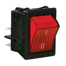 Arcolectric C 1353 vbnab Interruttore Rocker Rosso Alto Picco di Illuminato DPST ON-OFF 250 V AC 16 A