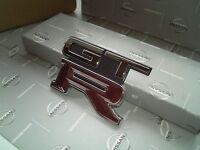 JDM OEM EMBLEM BUDGE STICKER REAR SKYLINE GTR GT-R R32 32 GENUINE NEW JAPAN