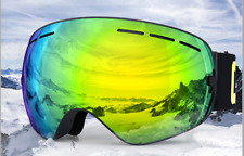 Ski goggles double layers UV400 anti-fog ski mask glasses skiing snow goggles