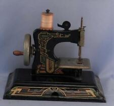 Vintage Casige Germany British Zone Child's Hand Crank Sewing Machine~Art Deco