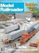 Model Railroader July 1982 Bi-Modal RoadRailer Planing Mill Truss Bridge Diesel