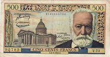 500 francs victor hugo  C4/8/1955   cote 110 euro TTB