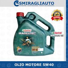 OLIO MOTORE CASTROL MAGNATEC C3 5W40 4 LITRI PER AUTO DIESEL BENZINA TD TURBO