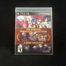 The Disgaea Triple Play Collection (Sony PlayStation 3, 2015) BRAND NEW