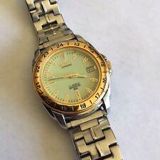 Vintage SEIKO 7002-8059 17 Jewel Automatic Sports Watch W/ Full Lumibrite Dial