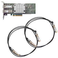 SET LOW PROFILE HP 530SFP+ + 2x Mellanox MCP2104-X001B 652503-B21 +++