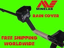 Lluvia cubierta de polvo Minelab Explorer, Quattro, Safari detector de metales con visera de sol