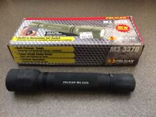 Pelican M3 3370 Tactical Flashlight, Black, Xenon Beam, 140 Lumens