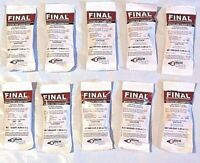 Just One Bite Poison 10 pack Final Mice Rat Mouse Rodent Professional D Con Bait