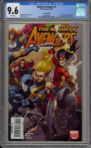 MIGHTY AVENGERS #1 - CGC 9.6 - NEW AVENGERS INCENTIVE VARIANT - 1255340008