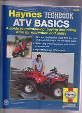 Haynes #10450 Techbook ATV Basics a guide to maintaining atv's for recreation