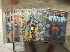 ELECTRIC WARRIOR 1 THRU 17 COMPLETE RUN NM 9.4 AND BETTER 9.8 CGC THEM SUPERMAN