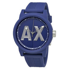 Armani Exchange ATLC Red Silicone Strap Mens Watch AX1454