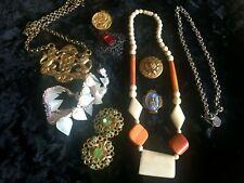 Lot de bijoux vintage et ancien