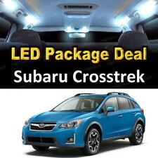 For 2013 - 2017 2018 Subaru Crosstrek LED Lights Interior Package Kit WHITE 6PCS