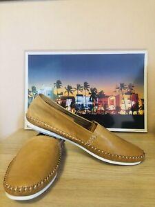 NEW Otisopse Capri Leather Loafers Made In Italy Miami Vice Crockett Don Johnson