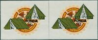 Tonga official 1980 SGO214-O215 South Pacific Scout Jamboree and Rotary set MNH