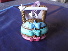 Disney * THREE GOOD FAIRIES * Handbag / Purse - New Resin Holiday Ornament