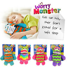 Kids Plush Toy Worry Monster School Bullying Eating Worries Nightmare Bad Dreams