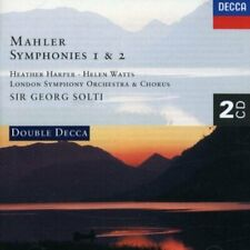 Mahler - Syms 1 & And 2/Lso/Solti Df2 (NEW CD)