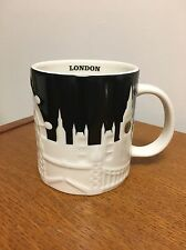 """Starbucks  LONDON  Cup Mug  """"City Relief""""  Collection  NEW witth Tag   VHTF"""