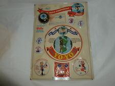 Strange Vintage Carded Supersonic Championship Wood Yo-Yo Bundle   Lot J-559