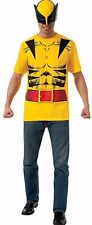 Adult Men's Marvel Comics Universe X-Men Wolverine T-shirt & Mask XL 44-46 NWT
