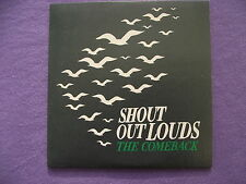 Shout Out Louds - The Comeback. Promo CD Single