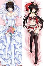 Anime Date A Live 2 Kurumi Tokisaki Dakimakura Hugging Body Pillow case cover