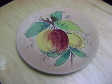 TERRACOTTA WALL PLATE POTTERY FROM ITALY