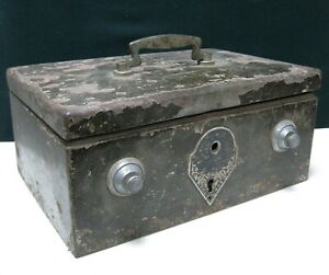 Vintage Military handheld Safe Box JAPAN WWII War Trophy Soviet Russia Army USSR