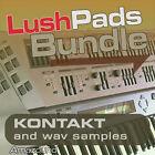 LUSH PADS BUNDLE JD800 + PAD MACHINE KONTAKT 594 NKI 4169 WAV SAMPLES DOWNLOAD