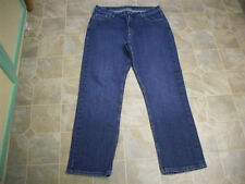 RIDERS Straight Leg 5 Pocket Cotton Stretch Jeans 34X30 Women 16M #3799