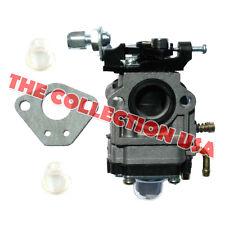 43CC, 49CC CARBURETOR (15MM) W/GASKET & 2 PRIMER BULBS FOR SCOOTER, POCKET BIKE