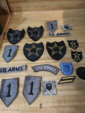 Lot of 18 Various Military Patches (BB)