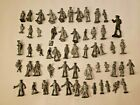 LOT OF 56: Vintage Lead/Pewter? Figures Toys Soldiers People SEE PICS!