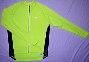Womens GUC Neon Yellow PEARL IZUMI Select Thermal Jacket size L