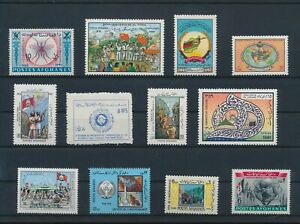 LO28634 Afghanistan mixed thematics nice lot of good stamps MNH