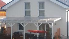 VSG 8mm 0,76 klar Sicherheitsglas, für Vordach, Überdachung, Carport