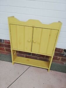 Vintage Kitchen Wall Unit Painted