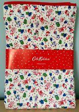 Authentic Cath Kidston Cervo Natale Babbo Natale Tovaglia 180 x 140cm-NUOVA con etichetta!