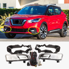 For Nissan Kicks 2018-2020 Halogen Front Bumper Fog Lamp Kit w/ wiring switch